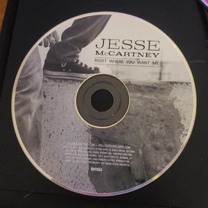 Jesse McCartney Right where you want me cd